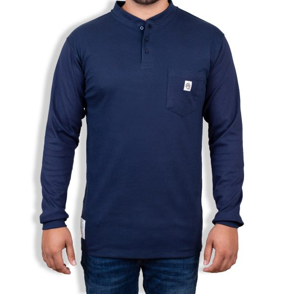 FR Shirt For Men } FR Henley Shirt